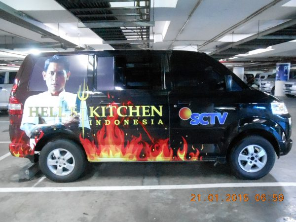 Jasa Car Branding Tangerang Berkualitas Hanya di Bentang Advertising