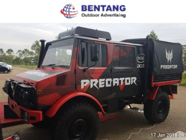 Jasa Car Branding Tangerang Terbaik Bentang Advertising